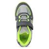 Šedé dětské tenisky s neonovými detaily mini-b, šedá, 211-2635 - 17