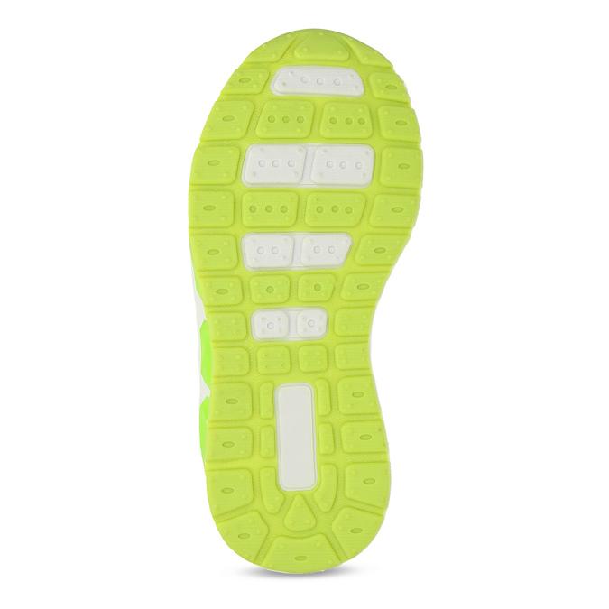 Šedé dětské tenisky s neonovými detaily mini-b, šedá, 211-2635 - 18