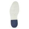 Tmavě modré pánské kožené polobotky bata, modrá, 823-9624 - 18