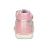 Růžové dětské kožené kotníčkové tenisky bubblegummers, růžová, 124-5611 - 15