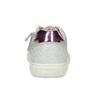 Stříbrné dětské tenisky s výšivkou mini-b, stříbrná, 321-1636 - 15