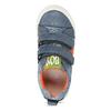 Dětské modré tenisky na suché zipy mini-b, modrá, 211-9636 - 17
