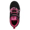 Černé dětské tenisky s růžovými detaily bubble-breathe, černá, 321-6607 - 17