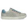 Dětské šedé tenisky s modrými detaily mini-b, šedá, 211-2637 - 19