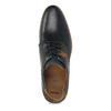 Pánské kožené tmavě modré polobotky bata, modrá, 826-9604 - 17