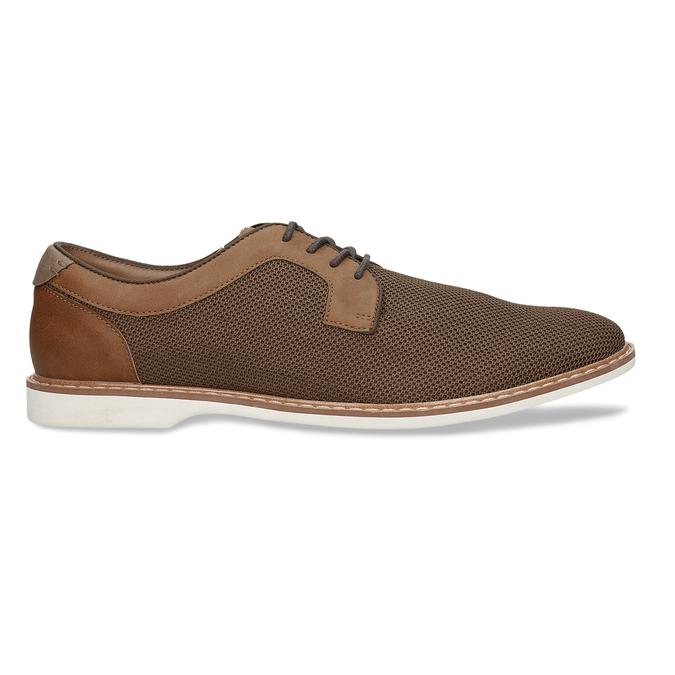 Pánská hnědá vycházková obuv bata-red-label, hnědá, 829-3606 - 19