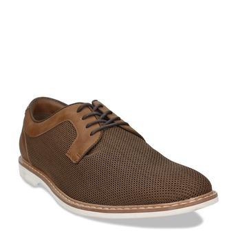 Pánská hnědá vycházková obuv bata-red-label, hnědá, 829-3606 - 13