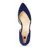 Dámské kožené modré baleríny hogl, modrá, 523-9103 - 17