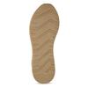 Dámské žluté tenisky městského stylu kožené bata, žlutá, 544-8602 - 18