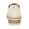 Béžové dámské polobotky z broušené kůže flexible, béžová, 523-8603 - 15