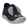 Modré dětské papuče s myškou mini-b, modrá, 179-9604 - 13