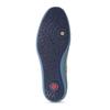 Pánské kožené polobotky s modrou podešví fluchos, modrá, 823-9666 - 18