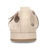 Dámské kožené béžové baleríny se sponou bata, béžová, 524-8601 - 15