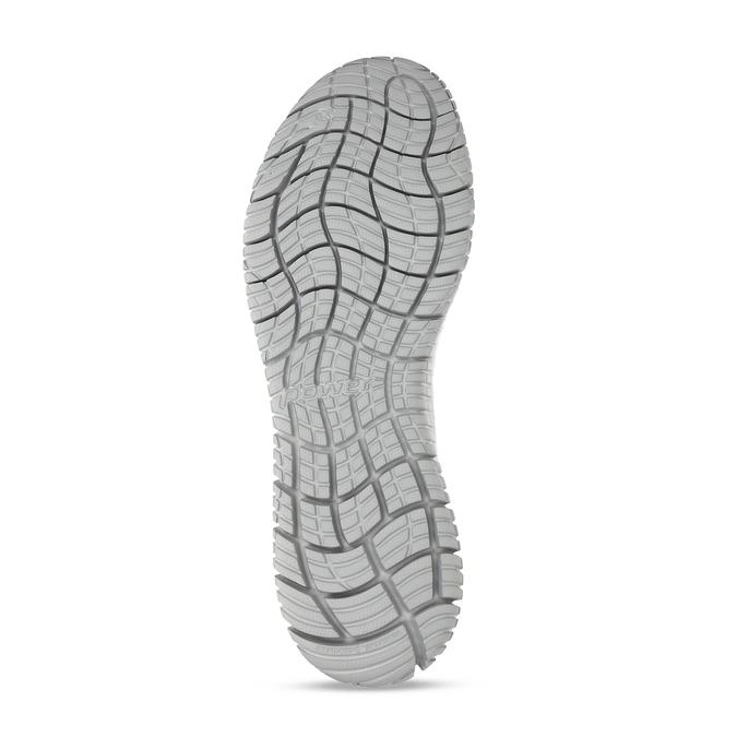 Šedobílé pánské tenisky s pleteným svrškem power, šedá, 809-2521 - 18