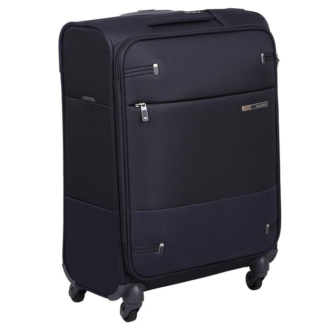 Malý černý kufr na kolečkách samsonite, vícebarevné, 960-0137 - 13