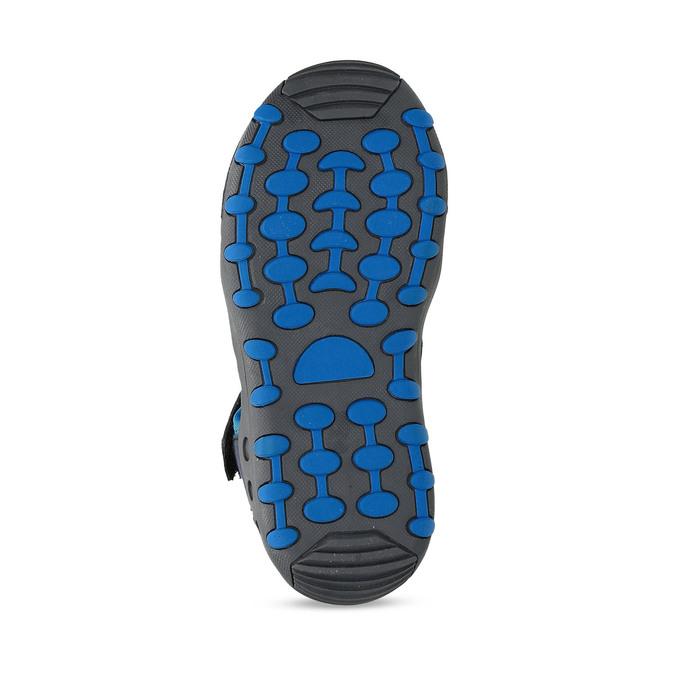 Modré dětské sandály na suchý zip mini-b, modrá, 261-9806 - 18