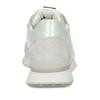 Bílo-stříbrné dámské kožené tenisky s perlami hogl, bílá, 546-1102 - 15