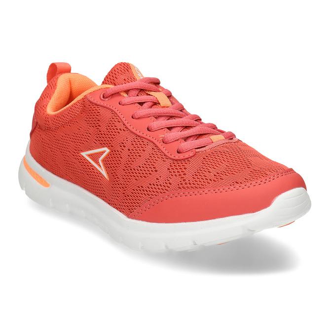 Oranžové dívčí sportovní tenisky power, oranžová, 409-5532 - 13