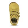 Žluté dětské kožené kotníkové tenisky froddo, žlutá, 124-8613 - 17