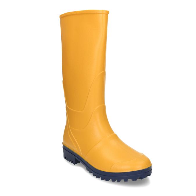 Žluté dětské holínky mini-b, žlutá, 492-8615 - 13