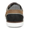 Pánské hnědé ležérní tenisky s prošitím bata, hnědá, 846-3606 - 15