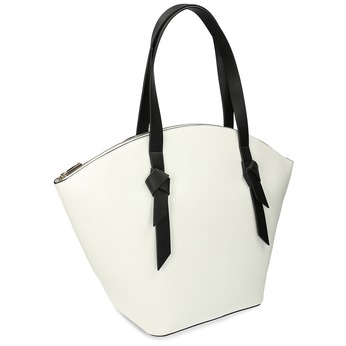 Bílá dámská kabelka přes rameno bata-red-label, bílá, 961-1632 - 13
