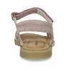 Růžové dětské sandály z broušené kůže mini-b, růžová, 363-5601 - 15