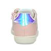 Dětské kožené tenisky s holografickým detailem mini-b, růžová, 223-5609 - 15