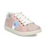 Dětské kožené tenisky s holografickým detailem mini-b, růžová, 223-5609 - 13