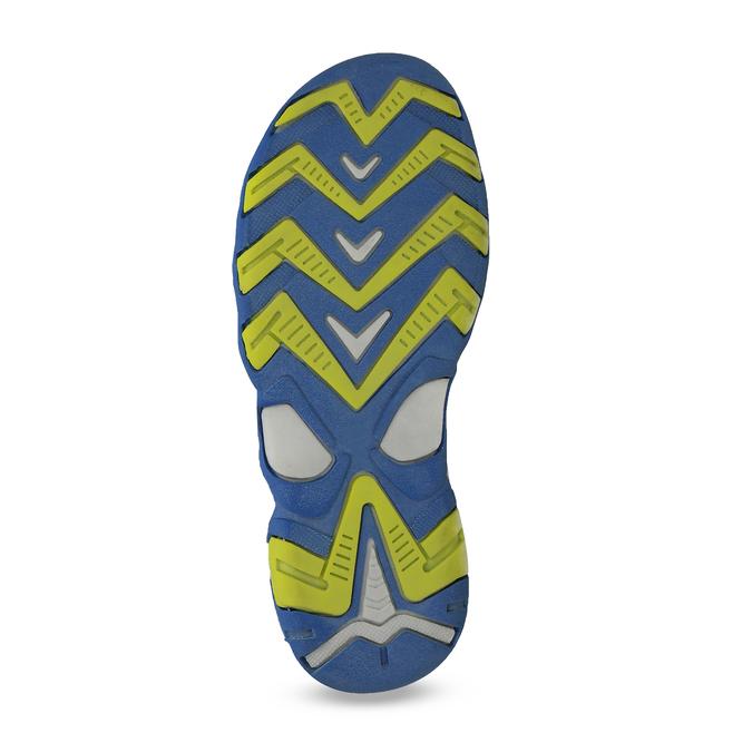 Dětské modré kožené sandály na suchý zip weinbrenner, modrá, 263-9604 - 18