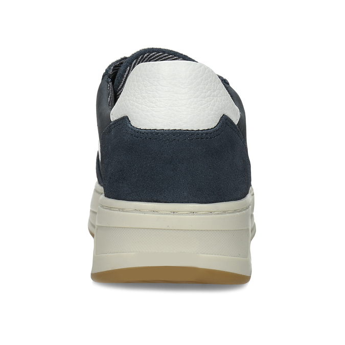 Modré chlapecké kožené tenisky bullboxer, modrá, 416-9604 - 15