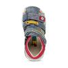 Dětské modré sandály na suché zipy bubblegummers, modrá, 161-9619 - 17