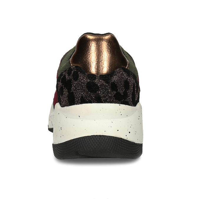 Dámské Chunky tenisky vícebarevné bata, zelená, 541-7601 - 15