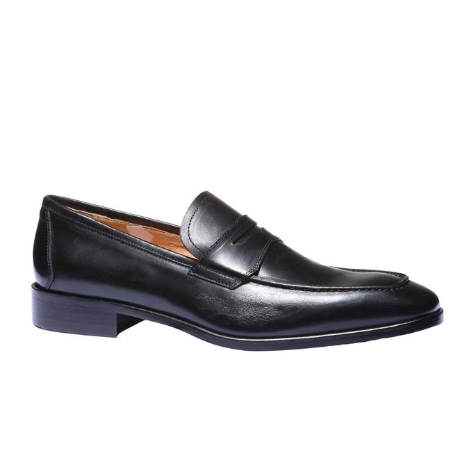 Kožená obuv ve stylu Loafer, 2018-814-6112 - 13