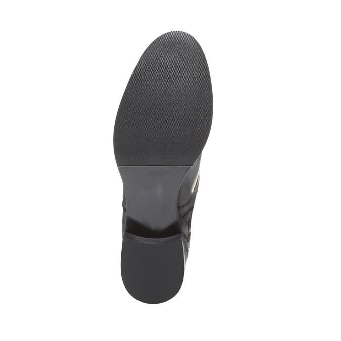 Andy - kozačky s originálním prošitím bata, černá, 2019-594-6139 - 19