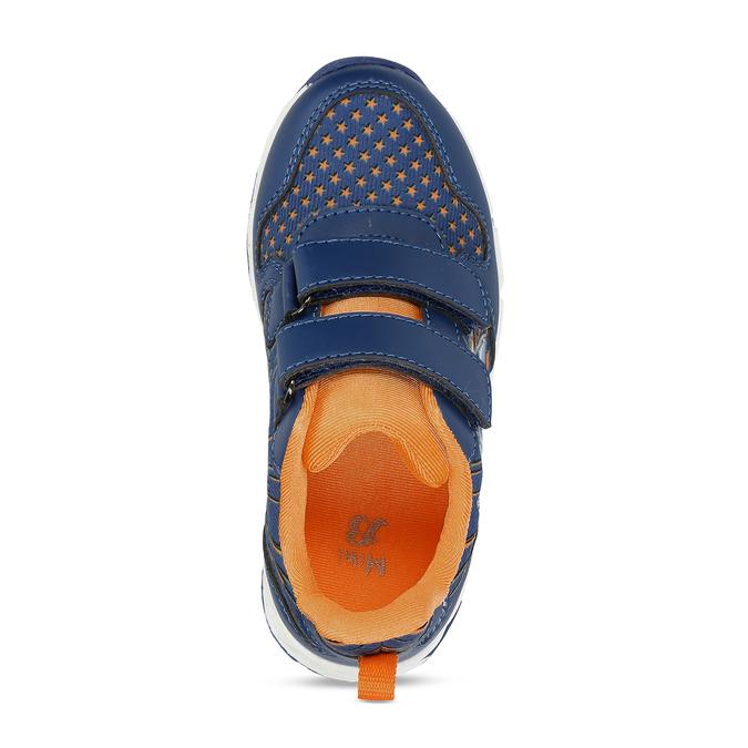 Modré chlapecké svítící tenisky mini-b, modrá, 211-9622 - 17