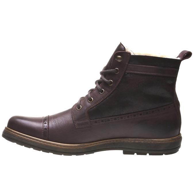 Andrew - kotníčková obuv v Brogue designu bata, 2019-894-4691 - 15