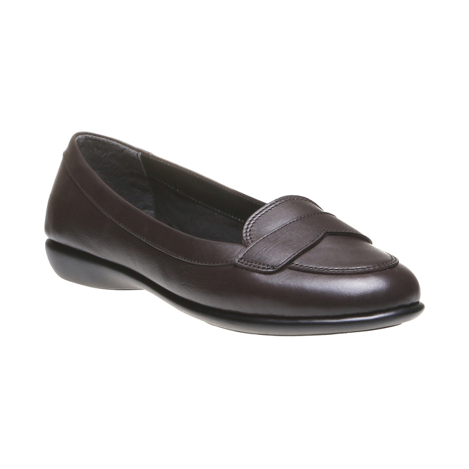 Roxy - nízká obuv bata, hnědá, 2018-514-4123 - 13