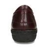 Nízká dámská obuv v tmavočervené kůži bata, červená, 594-5625 - 15