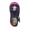 Dívčí papučky s růžovou podešví mini-b, modrá, 179-9605 - 17