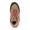 Dětská kotníková obuv v hnědorůžové barvě bubblegummers, růžová, 121-5611 - 17
