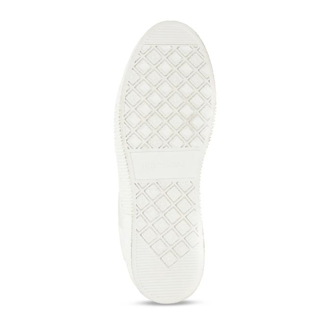 Bílé dámské tenisky s hvězdami north-star, bílá, 541-1621 - 18