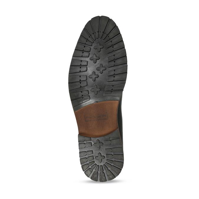 Pánská kožená Chelsea obuv černá bata, černá, 826-6714 - 18