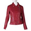 Dámský červený koženkový křivák bata, červená, 971-5264 - 13