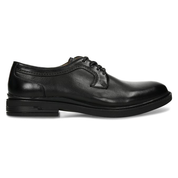 Černá pánská chelsea obuv v kůži bata, černá, 824-6716 - 19
