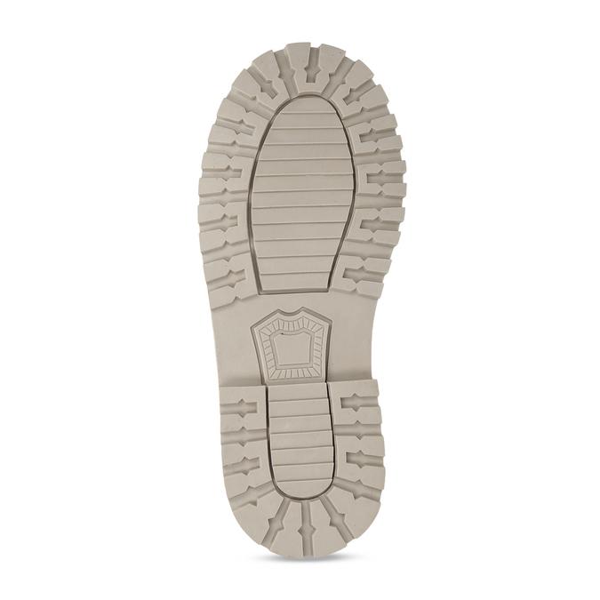 Světle hnědá chlapecká kotníková obuv mini-b, hnědá, 211-4612 - 18