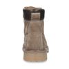 Dámská kožená kotníková obuv světle hnědá weinbrenner, hnědá, 596-4602 - 15