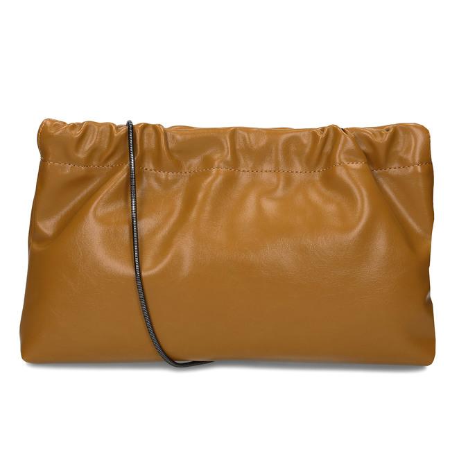 Světlehnědá dámská kabelka bata, žlutá, 961-8272 - 16