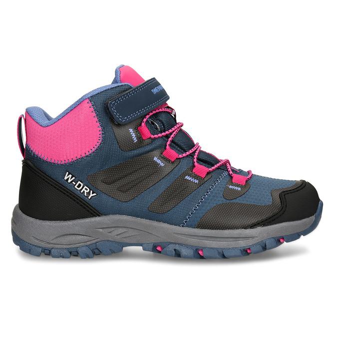 Modro-růžová dívčí obuv v outdoorovém stylu weinbrenner, modrá, 429-9621 - 19