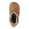 Kožená hnědá dětská zimní kotníková obuv froddo, hnědá, 194-4616 - 17